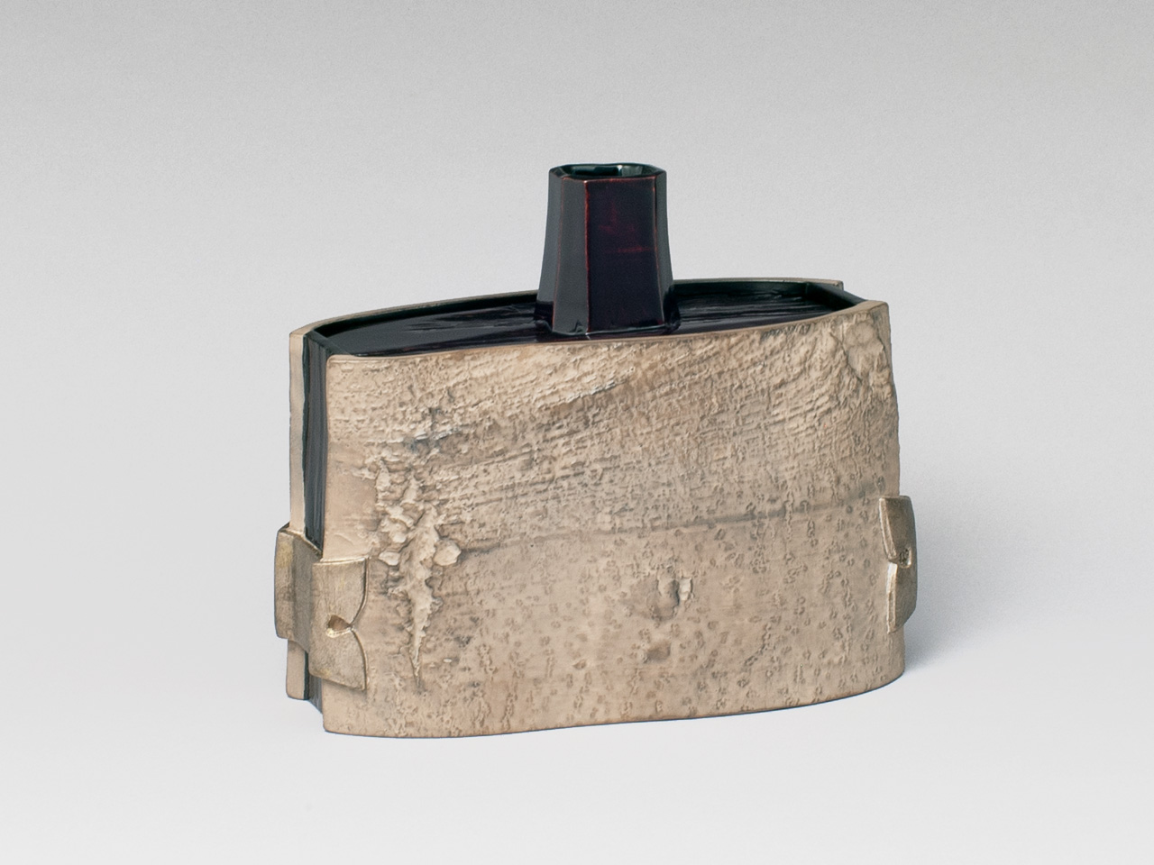 Bark Panel Vase