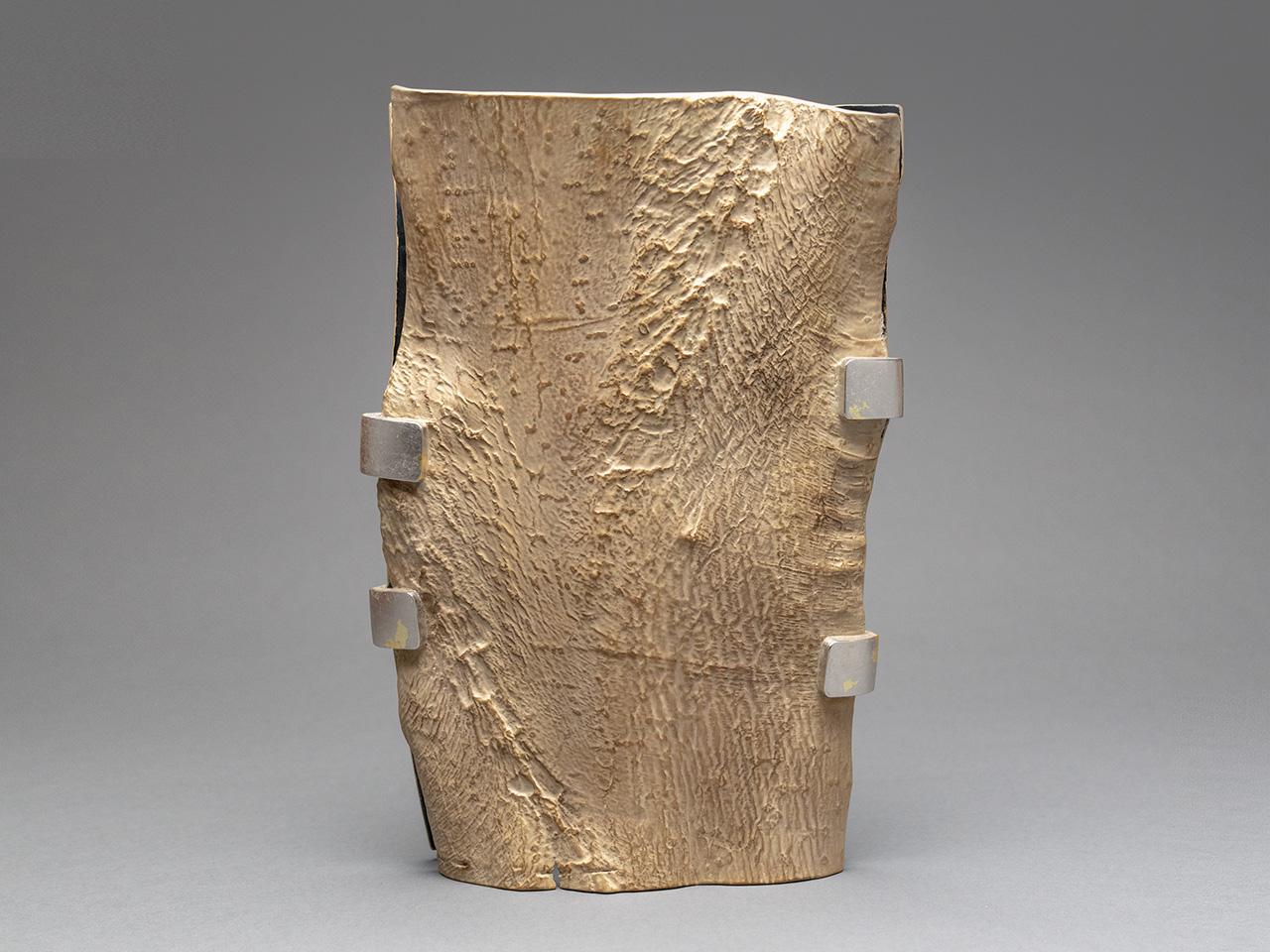 Bark Panel Vase, Forest Armor
