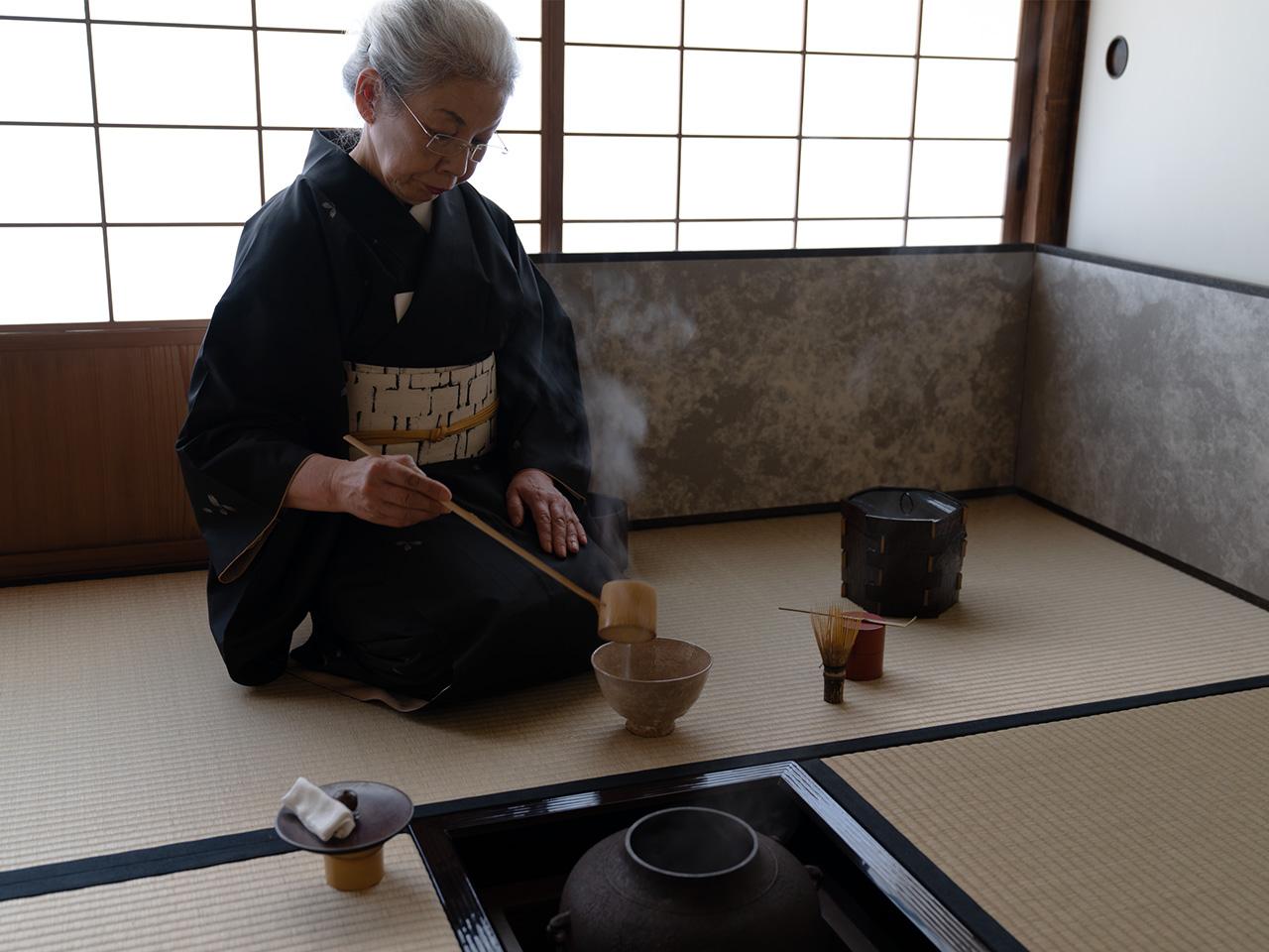 龍隠庵の茶室